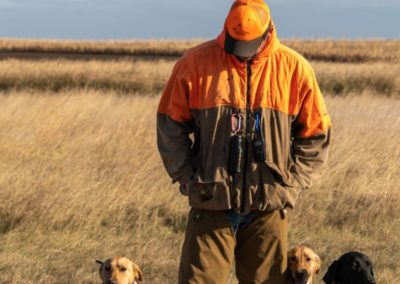 Guide with his Dogs