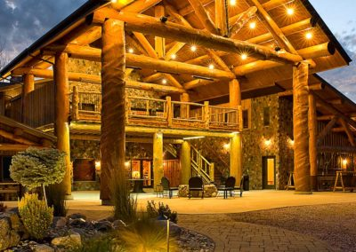 Main Lodge at Night