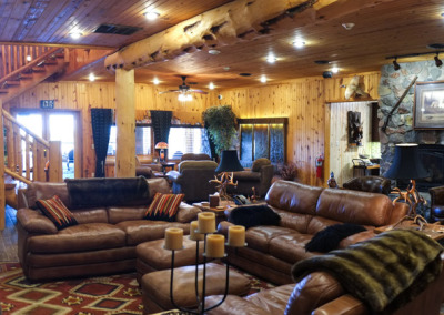 The Main Lodge social area