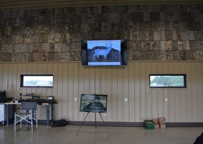 Live video feed of targets!