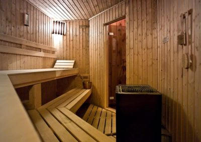 Dry Sauna (we also have a Steam Sauna)