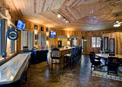 Main Lodge Fully Stocked Bar
