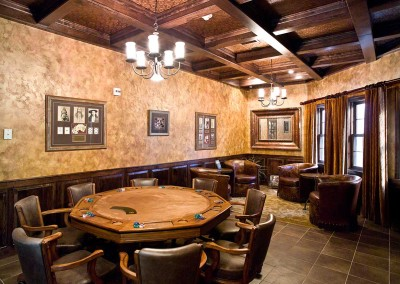 King Lodge Poker Area