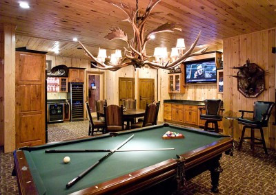 Playing Pool in King Lodge