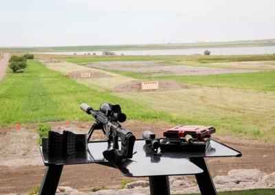 Targets out to 2000 yards