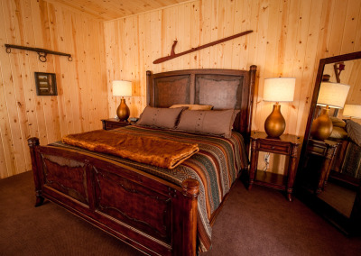 Luxurious comfort in King Lodge