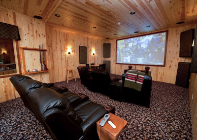 Main Lodge Theater room