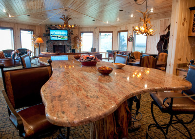 King Lodge upstairs lounge