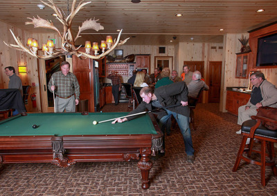 King Lodge game of pool