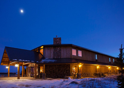 King Lodge at Night